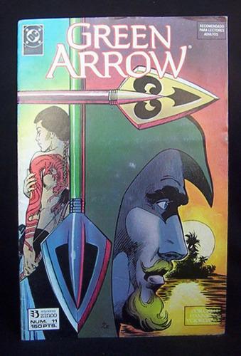 green arrow flecha verde no. 11 dc comics ediciones zinco