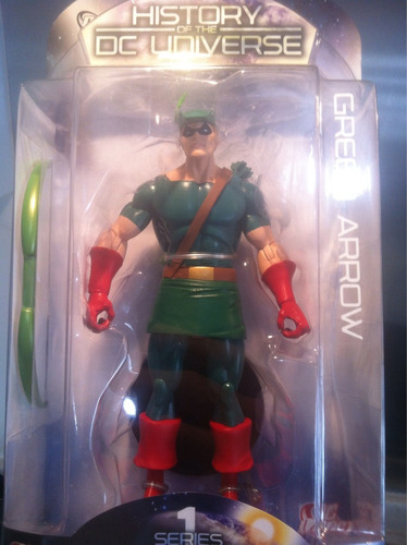 green arrow history of the dc universe dc direct