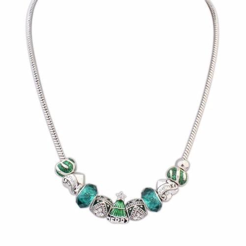Green christmas themed necklace 71400 en mercado libre green christmas themed necklace aloadofball Images