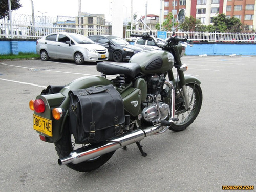 green classic battle green royal enfield classic battle