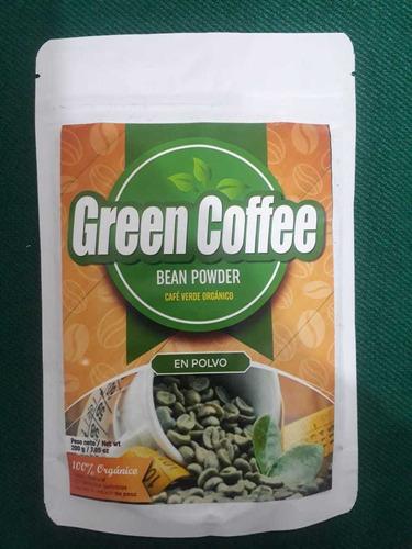 green coffee bean powder (cafe verde organico en polvo)