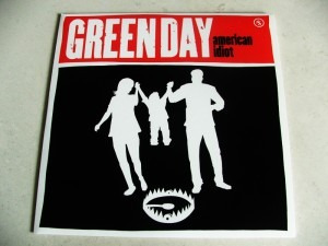 green day american idiot cd single original