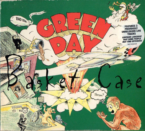 green day basket case single cd 4 tracks uk 1994