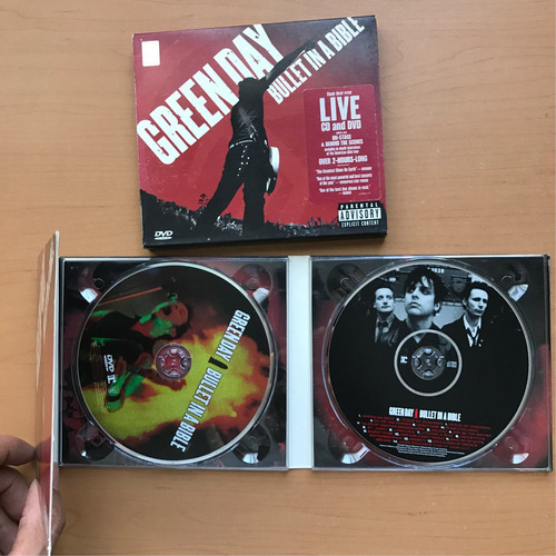 green day - bullet in a bible (live). cd/dvd
