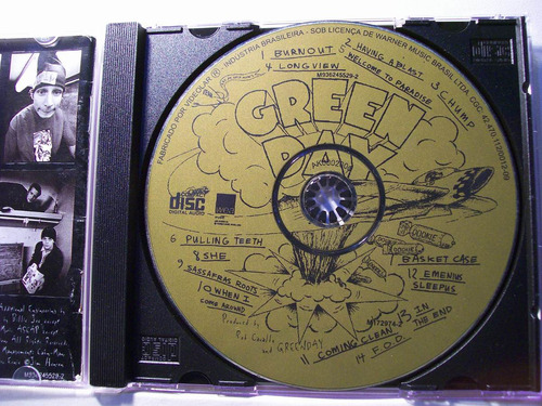 green day, dookie, cd original raro
