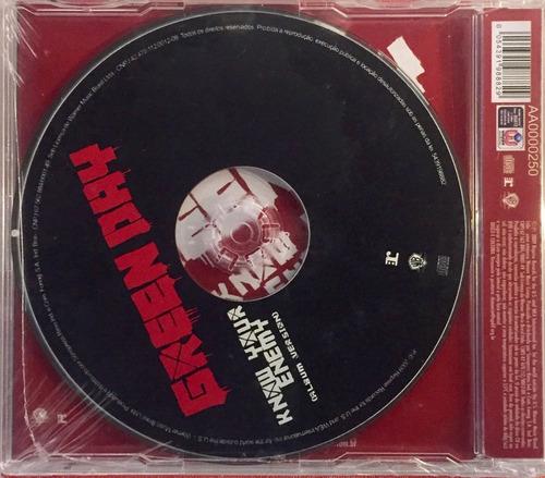 green day - know your enemy - cd promo single lacrado