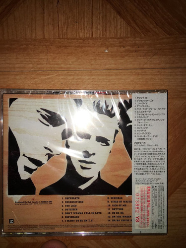 green day - shenanigans made in japon