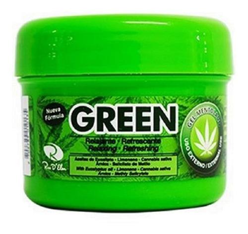 green gel mentolado 450g