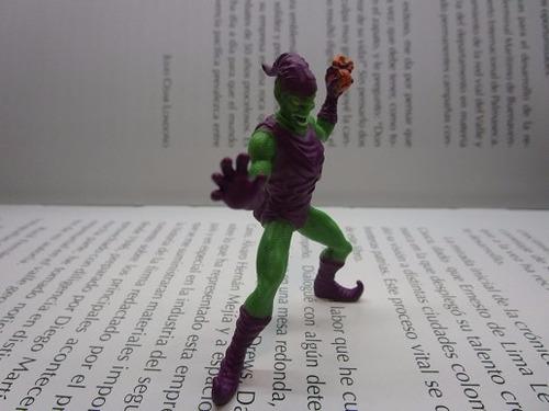 green goblin spiderman figura accion marvel 6cm miniatura