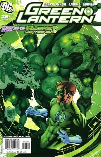 green lantern #26 - geoff johns - mckone  - inglés