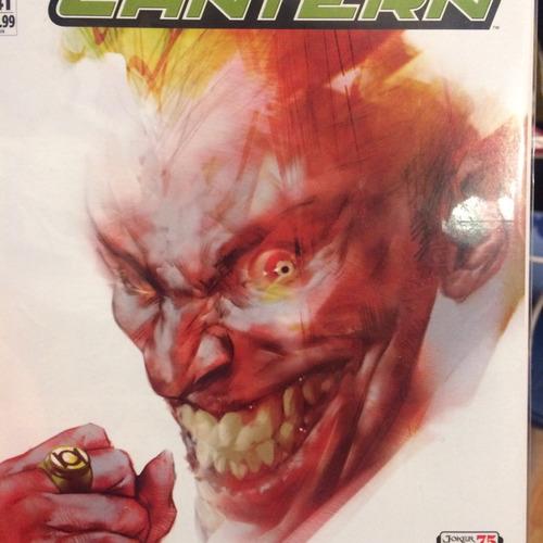 green lantern #41 joker variant.