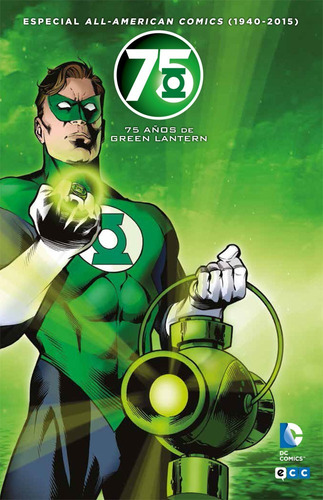 green lantern 75 años - dc ecc comics - robot negro