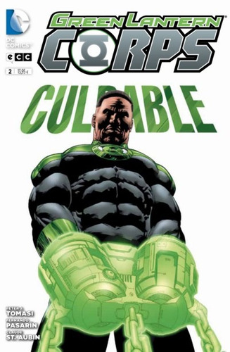 green lantern corps 02 dc comics ecc