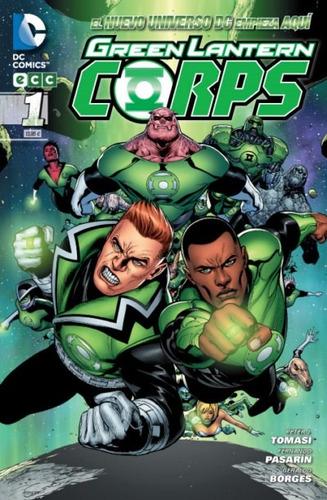 green lantern corps núm. 01