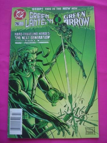 green lantern green arrow dc usa ingles