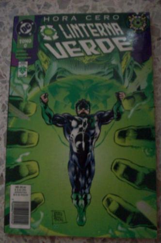 green lantern hora cero tpb dc mexico comic