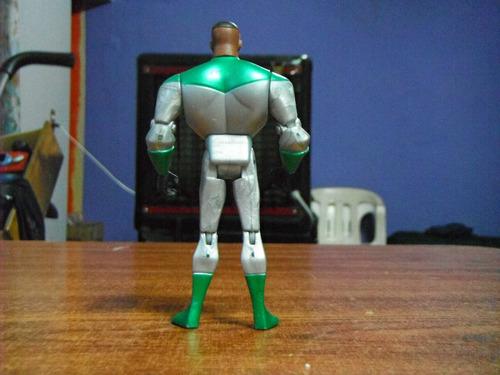 green lantern john stewart traje verde y plata