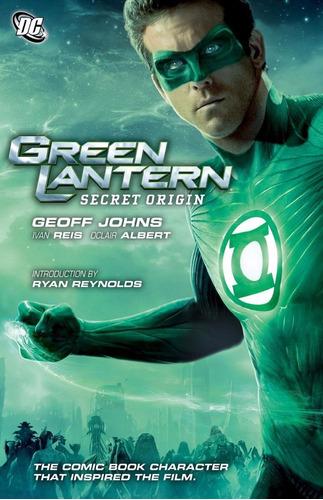 green lantern: secret origin tpb - dc comics - robot negro
