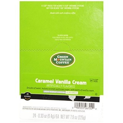 green mountain coffee caramel vanilla cream, k-cup conde por