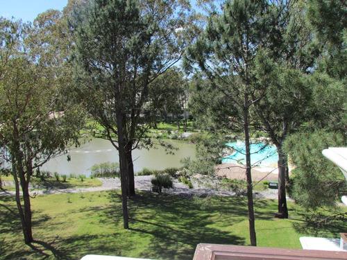 green park - solanas. monoambiente c/parrilla y gran vista.