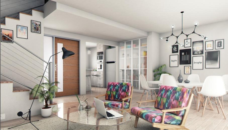 green ville ii modernos duplex 3 dormitorios cochera - facilidades