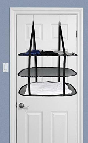 greenco 3 niveles sobre la puerta de secado rack