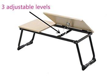 greenforest ordenador portátil soporte de mesa plegable por