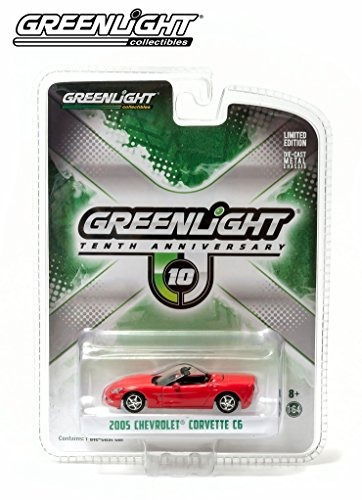 greenlight 10th anniversary edition 2005 chevy corvette c6 c