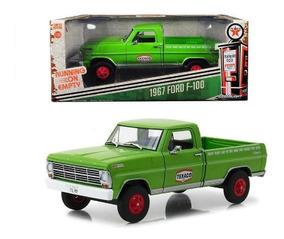 124 1967 Texaco Ford Gasolinera Camioneta F100 Greenlight tsdhQCr