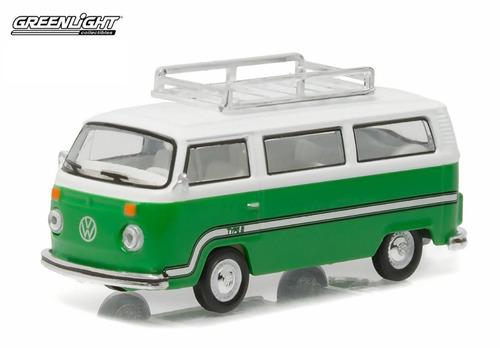 greenlight 1/64 1977 volkswagen  type 2  bus kombi