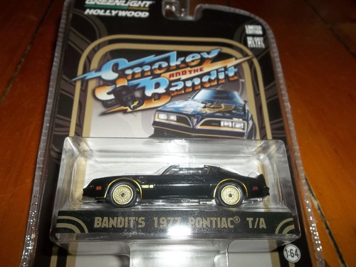 greenlight 1/64 hollywood  smokey and the bandit 1