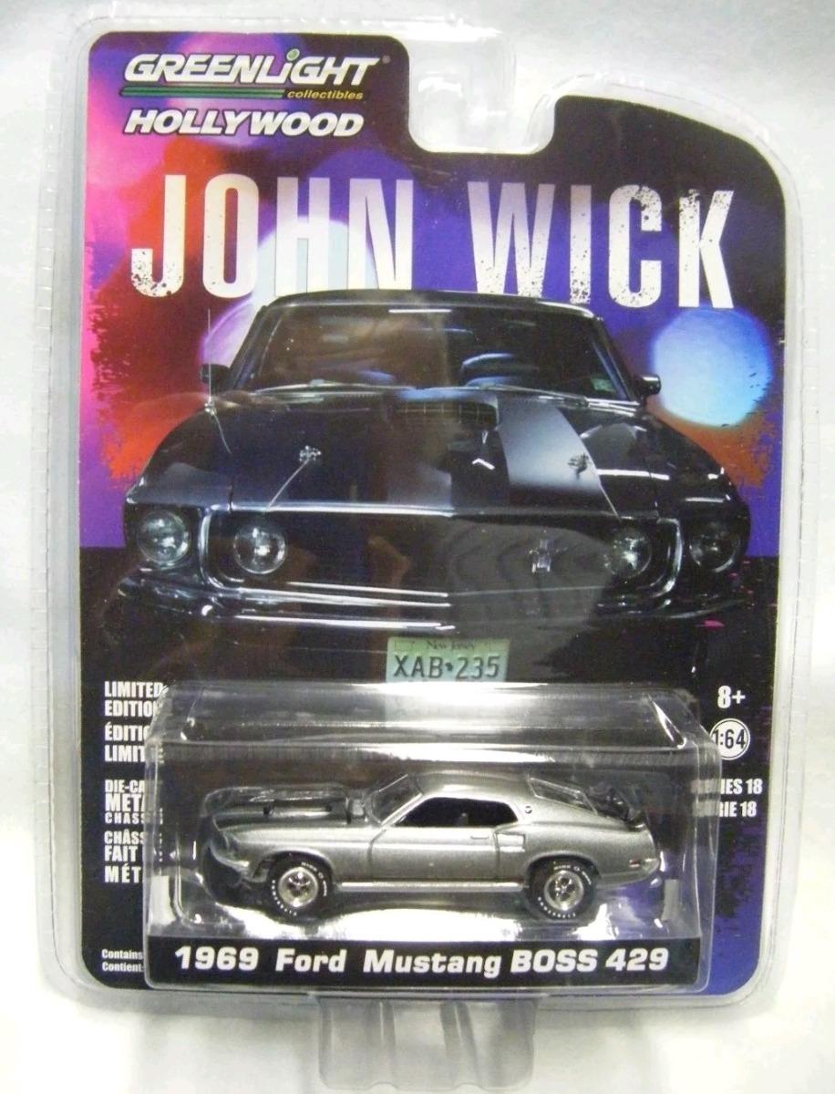 greenlight  ford mustang boss  john wick   en mercado libre