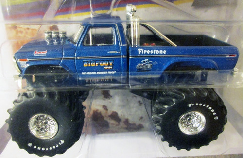 greenlight 1974 ford f-250 bigfoot mide 9 cm. e/1:64