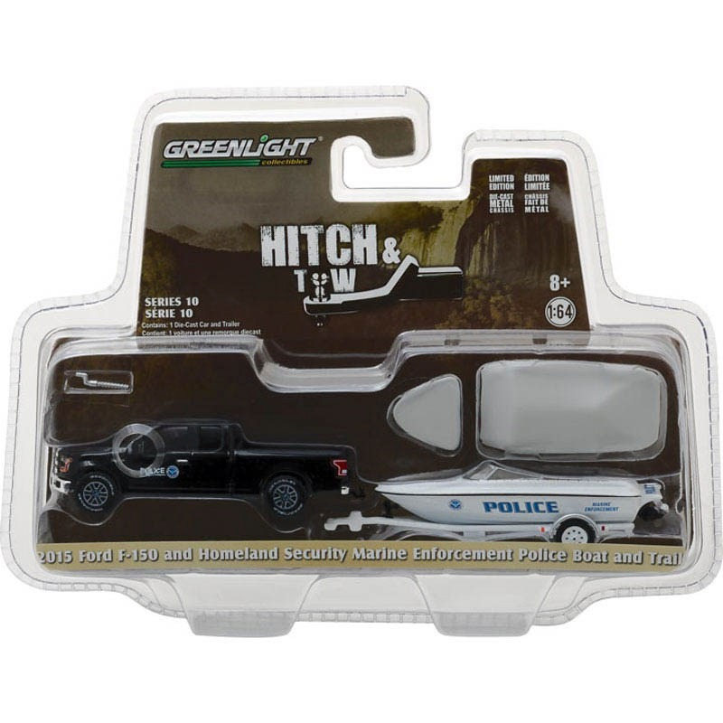 Greenlight 2015 ford f 150 with homeland security marine cargando zoom aloadofball Image collections