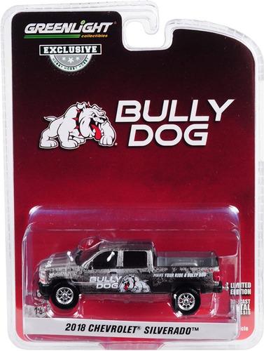 greenlight bully dog 2018 chevrolet silverado 1:64