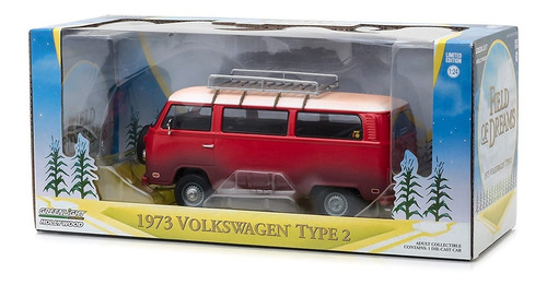 greenlight campos dos sonhos 1973 volkswagen type 2 kombi