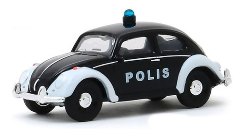 greenlight club v-dub classic beetle policia fusca  1:64