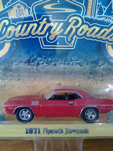 greenlight country roads 1971 plymouth barracuda