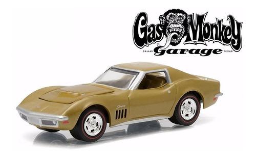 greenlight gas monkey garage 1969 chevrolet corvette e/1:64