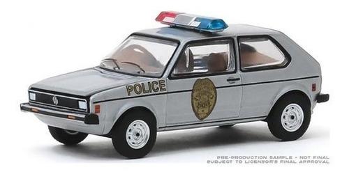 greenlight hot pursuit 1980 volkswagen rabbit 1:64