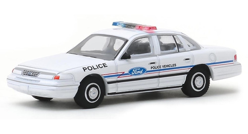 greenlight hot pursuit 1993 ford crown victoria police 1:64