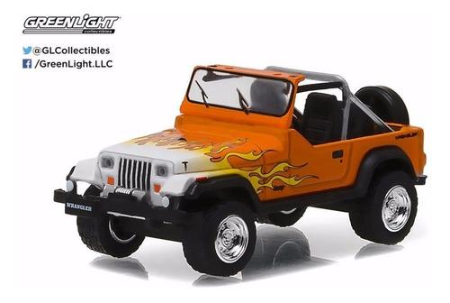 greenlight jeep ford f-100 chevy bel air... escala 1:64