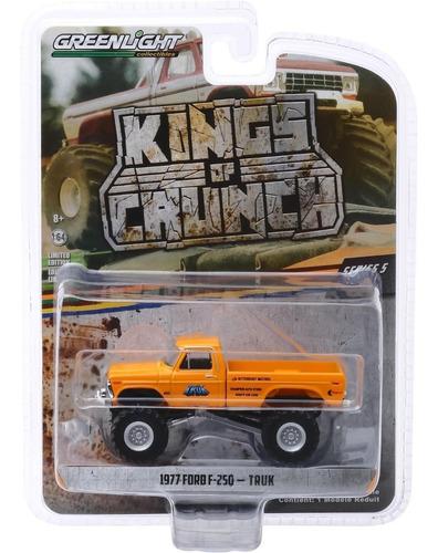 greenlight kings of crunch 1977 ford f-250 truk 1:64