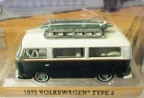 greenlight kombi - volkswagen type 2 - samba bus  e/1:64.