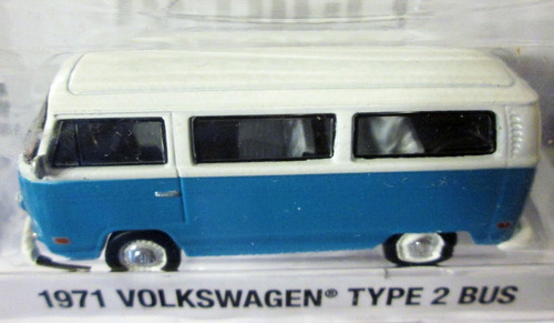 greenlight lost 1971 volkswagen type 2 bus mide 7 cm. e/1:64