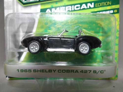 greenlight motor world - 1965 shelby cobra 427 s/c