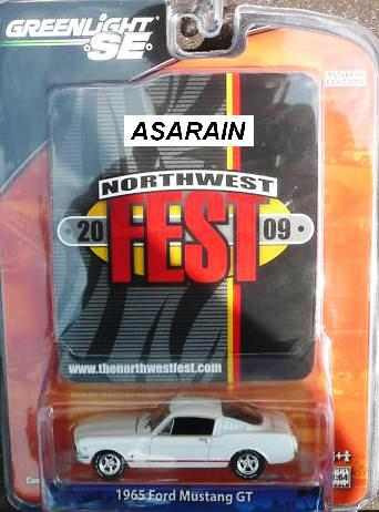 greenlight northwest fest 1965 ford mustang gt 1 of 480 1/64