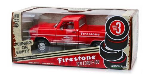 greenlight running on empty firestone 1971 ford f-100 1:24