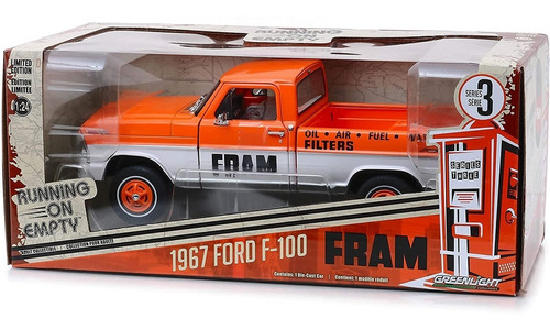 greenlight running on empty fram 1967 ford f-100 1:24