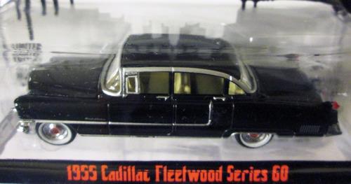 greenlight the goodfather 1955 cadillac fleetwood e/1:64